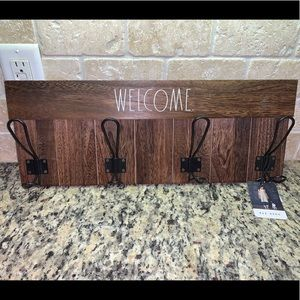 Rae Dunn Welcome Wooden Sign